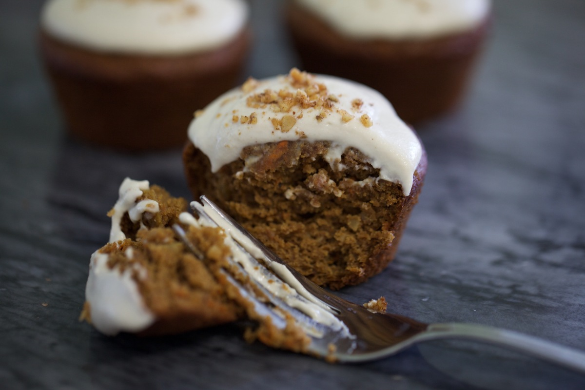Vegan Carrot Cake with Cashew Cream Frosting