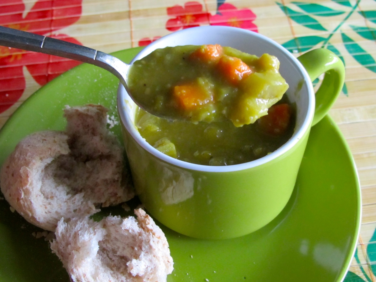 Soup Magic:  Homestyle Split Pea